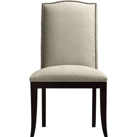 copy cat chic crate and barrel colette side chair