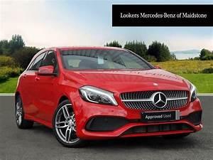 Mercedes A 180 : mercedes benz a class a 180 d amg line premium red 2016 ~ Mglfilm.com Idées de Décoration