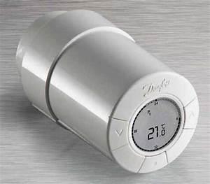 Tete De Robinet Radiateur : tete de radiateur thermostatique danfoss ~ Dailycaller-alerts.com Idées de Décoration