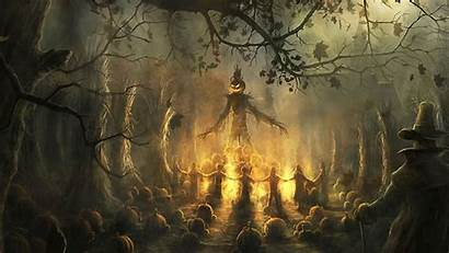 Halloween Scary Backgrounds Wallpapers Spooky Background Desktop