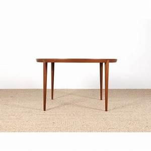 Table Basse Scandinave Ronde : table basse scandinave ronde teck galerie m bler ~ Teatrodelosmanantiales.com Idées de Décoration