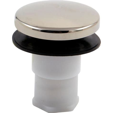 delta tub drain parts delta bath waste stopper assembly in polished nickel