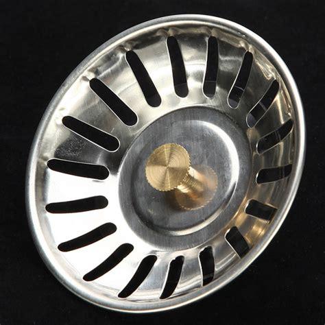 replacement kitchen sink strainer plugs mcalpine stainless steel kitchen sink drain strainer waste 7751