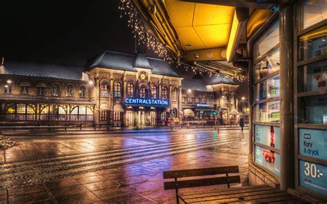 gothenburg central station sweden widescreen wallpaper