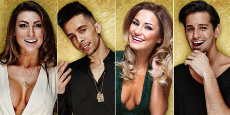 celebrity big brother    meet   housemates