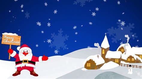 Santa Claus Animated Wallpaper - background animated gif