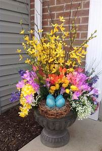 Welcome, Spring, Urn, Created, By, Ashley, Brant, Designs