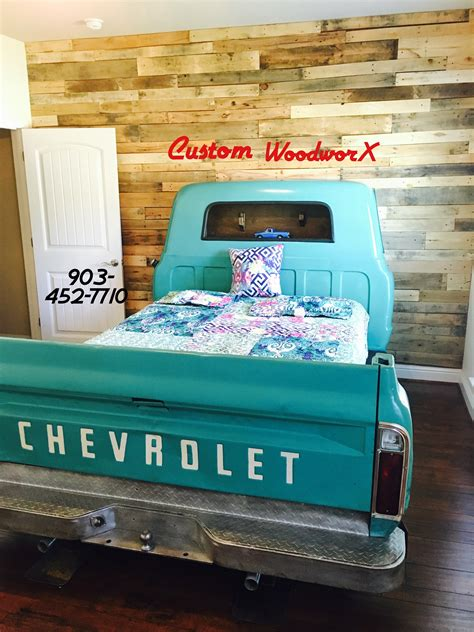upcycled truck bed frame home design garden