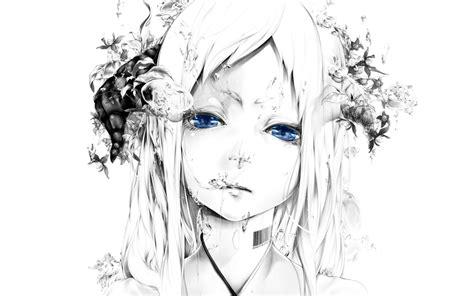 White Anime Wallpaper - anime x 4k ultra hd wallpaper background image