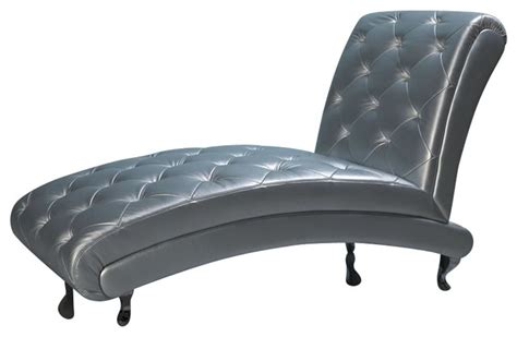 b6 chaise silver contemporary indoor chaise lounge
