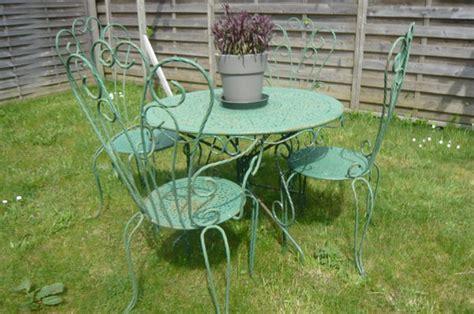 table de jardin en fer forge occasion achetez salon de jardin en occasion annonce vente 224 le mans 72 wb153175828