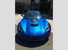 Laguna Blue Callaway Corvette SC627 Looks Absolutely