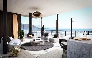 Modern Beach Hoe Decor Beach Cottage Interior Design