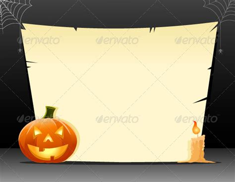halloween invitation template blank festival collections