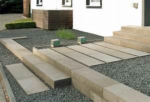 Hauseingang Treppe Modern : mauern und treppen kesseler garten und landschaftsbau ~ Yasmunasinghe.com Haus und Dekorationen