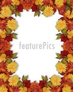Fall Thanksgiving Page Border