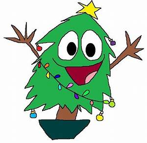 A Cartoon Christmas Tree - ClipArt Best