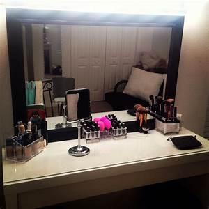Makeup station! Home ideas Pinterest