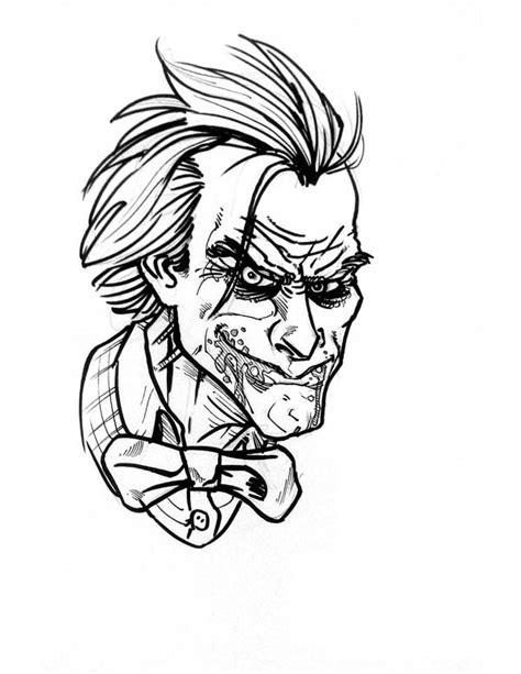 Coloring Joker by Joker Coloring Page Netart