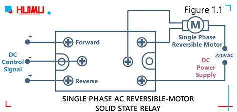Motor Speed Direction Controller Solid State Relay