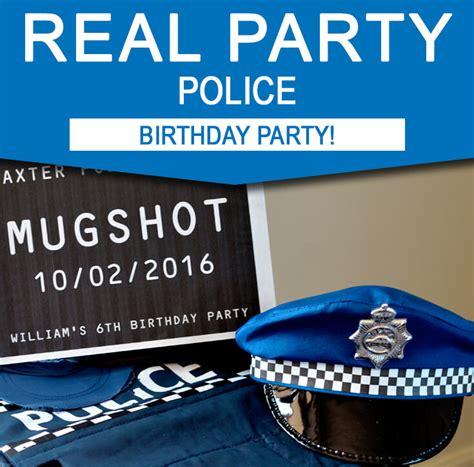 williams  police birthday party simonemadeit party