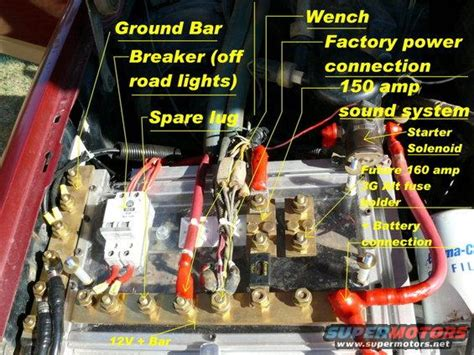 battery box and wiring upgrade ford bronco forum