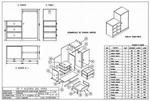 Drawers Sections Detail In Autocad Dwg Files  U2013 Cad Design