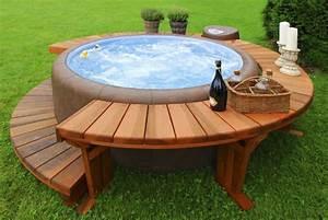 Spa En Bois Pas Cher : construire une piscine hors sol en bois astuces bricolage ~ Premium-room.com Idées de Décoration