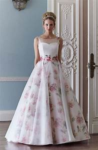 fantastic floral wedding dresses chwv With floral wedding dresses