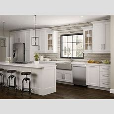 Newport Wall Cabinets In Pacific White  Kitchen  The