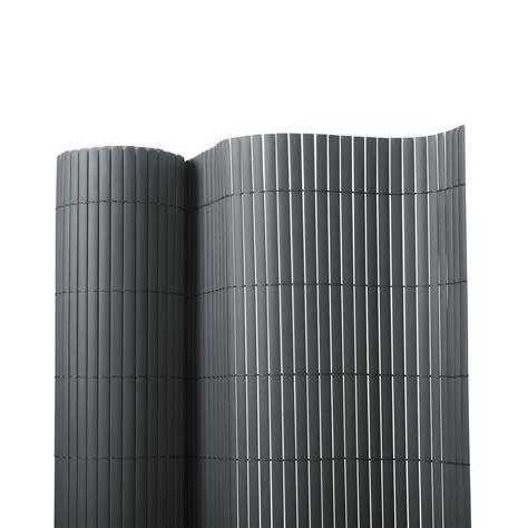 sichtschutz bambus balkon sichtschutz zaun grau 7 größen dayton de