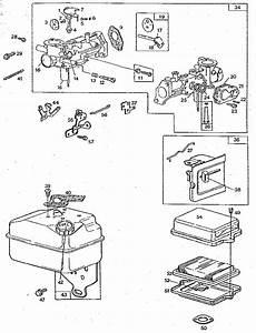Carburetor And Tank Assembly Diagram  U0026 Parts List For