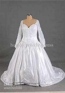 latest plus sizes winter wedding dresses long sleeves With plus size winter wedding dresses