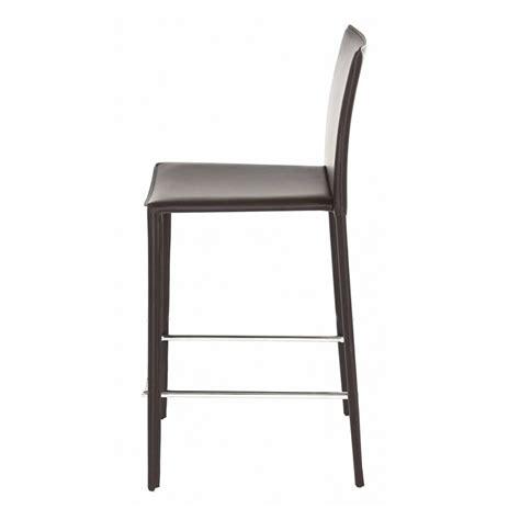 chaise pour plan de travail lot de 4 chaises plan de travail chocolat kosyform