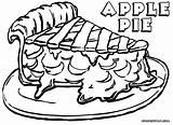 Pie Coloring Apple Adult Pies Peep Bo Popular Colorings sketch template