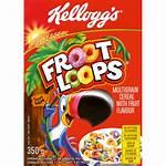Loops Froot Kellogg Cereal Cereals Breakfast Checkers