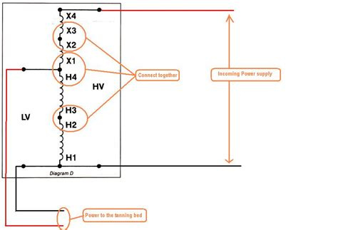 Wiring Diagram For Tanning Bed by I A Buck Boost Converter For A Tanning Bed 4 Wires