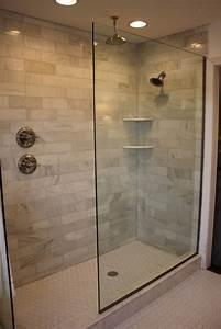 doorless walk in shower designs shower handle on separate With bathroom designs with walk in shower