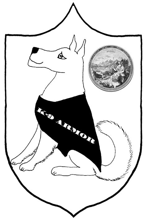 Police Dog Coloring Pages