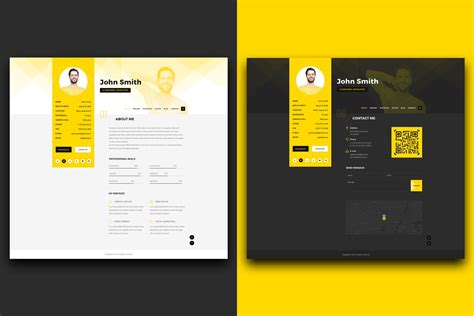 portfolio template the best cv resume templates 50 exles design shack