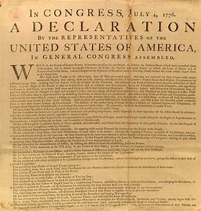 George Washington's copy of the Declaration of ...