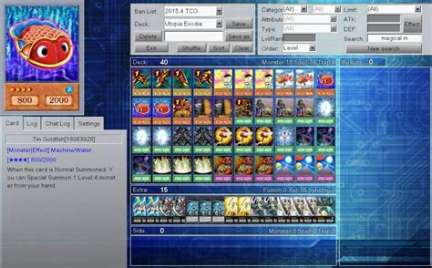 Exodia Deck List April 2015 by Need Help With Utopia Exodia Deck Decks Ygopro Forum