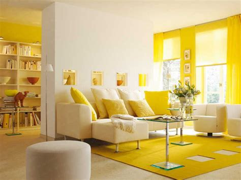 2 Bright Homes With Energetic Yellow Accents : Jonquil Yellow Interior Design Ideas With Surprising