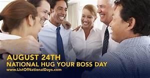 national hug your day list of national days