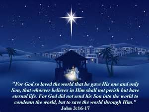 is the true meaning why we celebrate the savior s birth 3 16 17 mission venture
