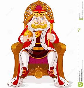 King On The Throne Royalty Free Stock Photos - Image: 37754128
