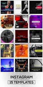 15 Instagram Templates Vol 2  Sports
