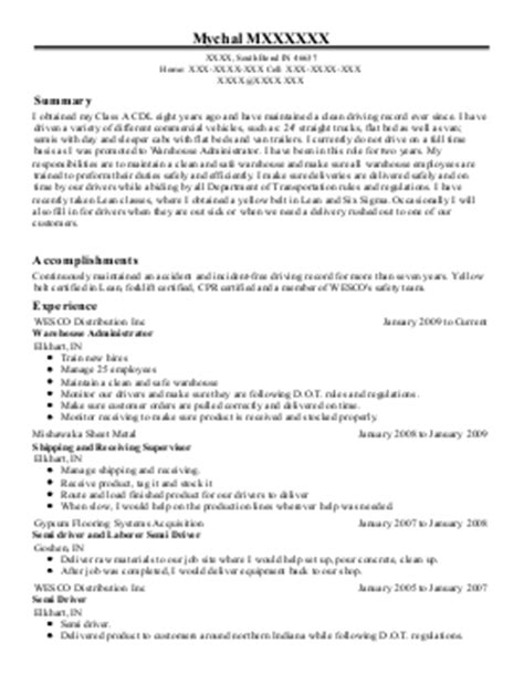 resume route sales