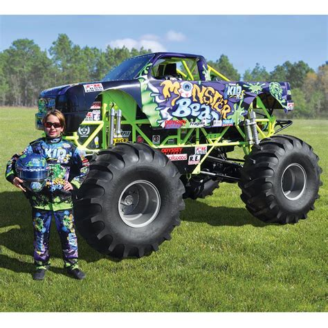 monster jam trucks mini monster truck crushes every toy car your rich kid