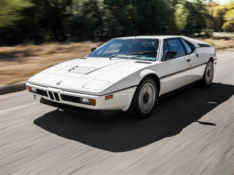 The Sexiest New Car Is Probably This 1981 Bmw M1